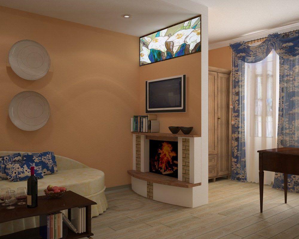 Идеи для ремонта однокомнатных квартир 11