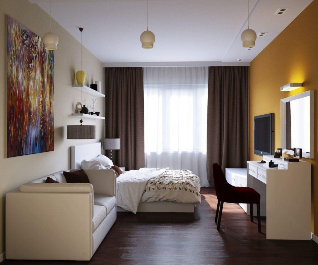 Идеи для ремонта однокомнатных квартир 15