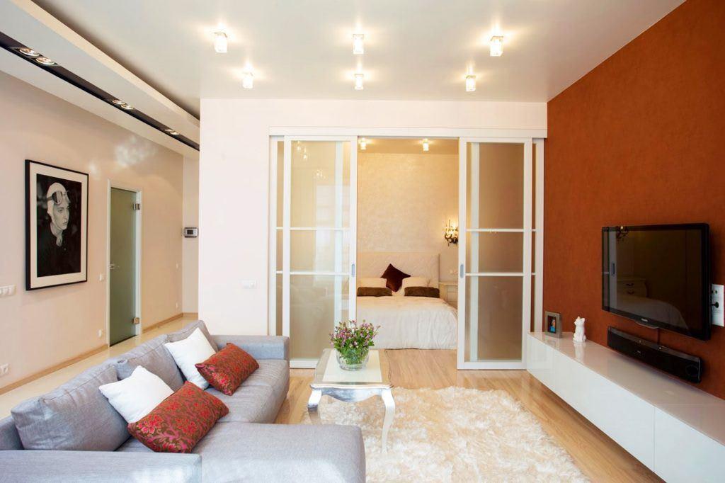 Идеи для ремонта однокомнатных квартир 16