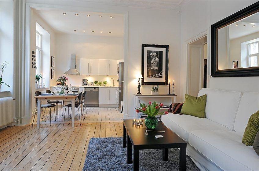 Идеи для ремонта однокомнатных квартир 18