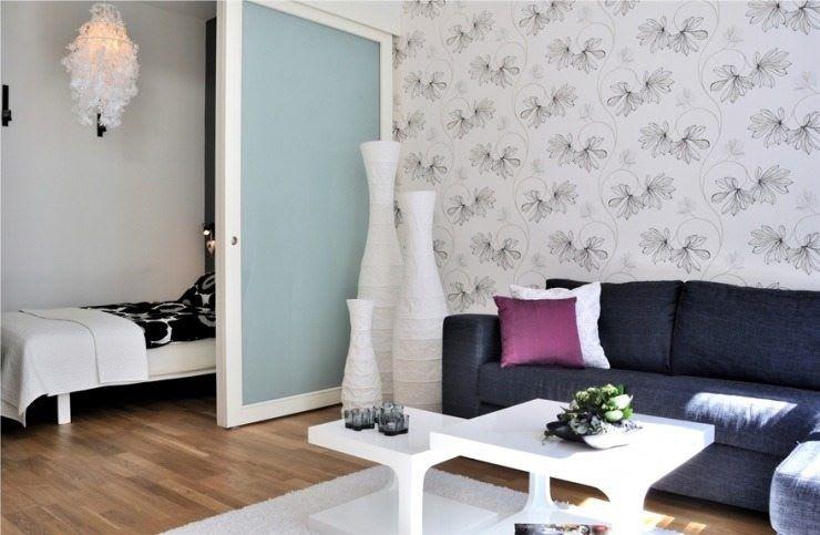 Идеи для ремонта однокомнатных квартир 19
