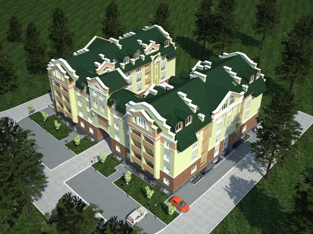 1_Многоквартирный дом в г.Ирпень ул.Мечникова 112-114