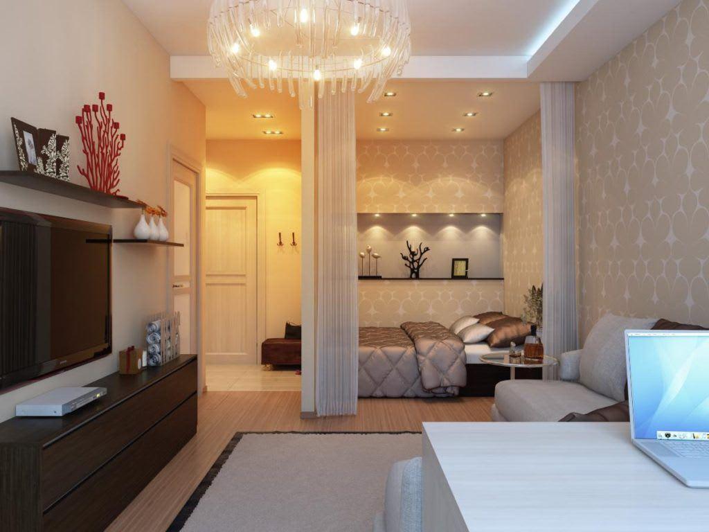 Идеи для ремонта однокомнатных квартир 1
