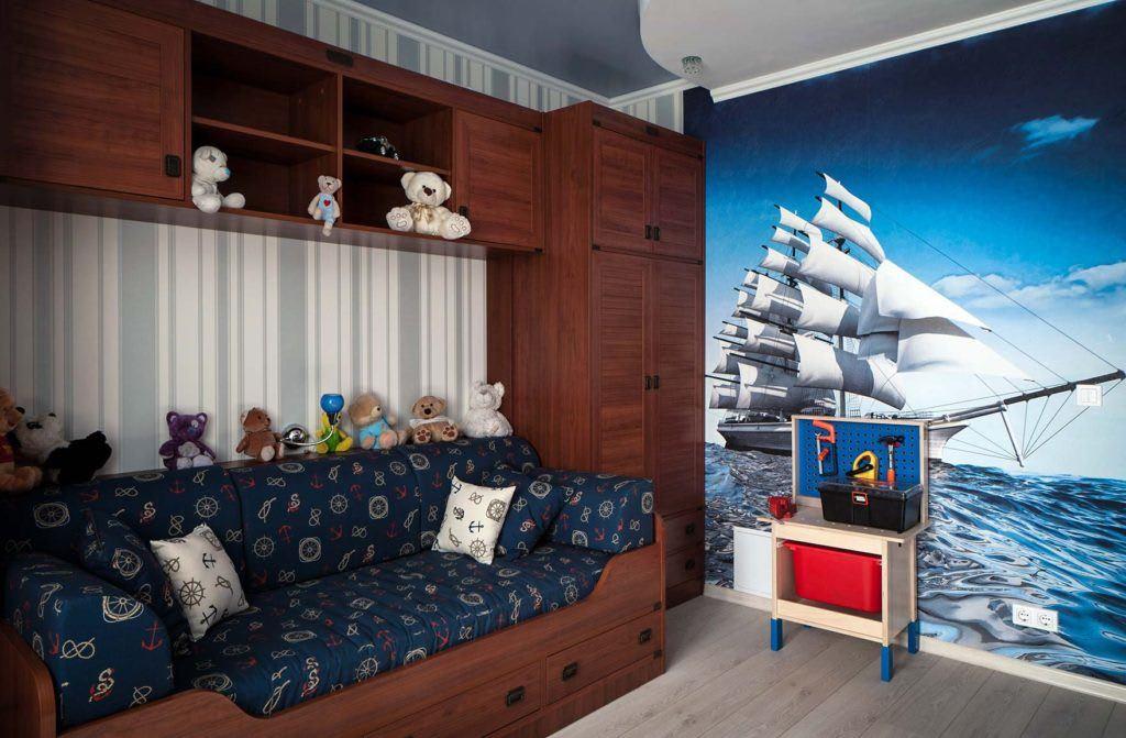Идеи для ремонта детских комнат 1