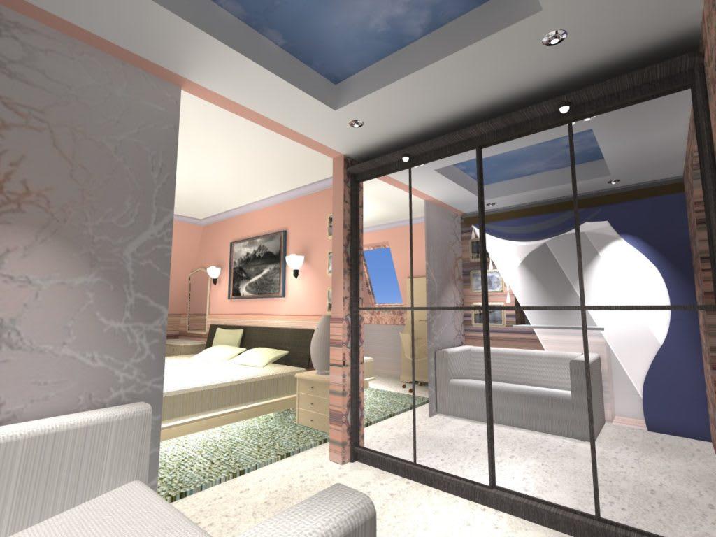 1_г.Буча — Квартира в мансардном этаже