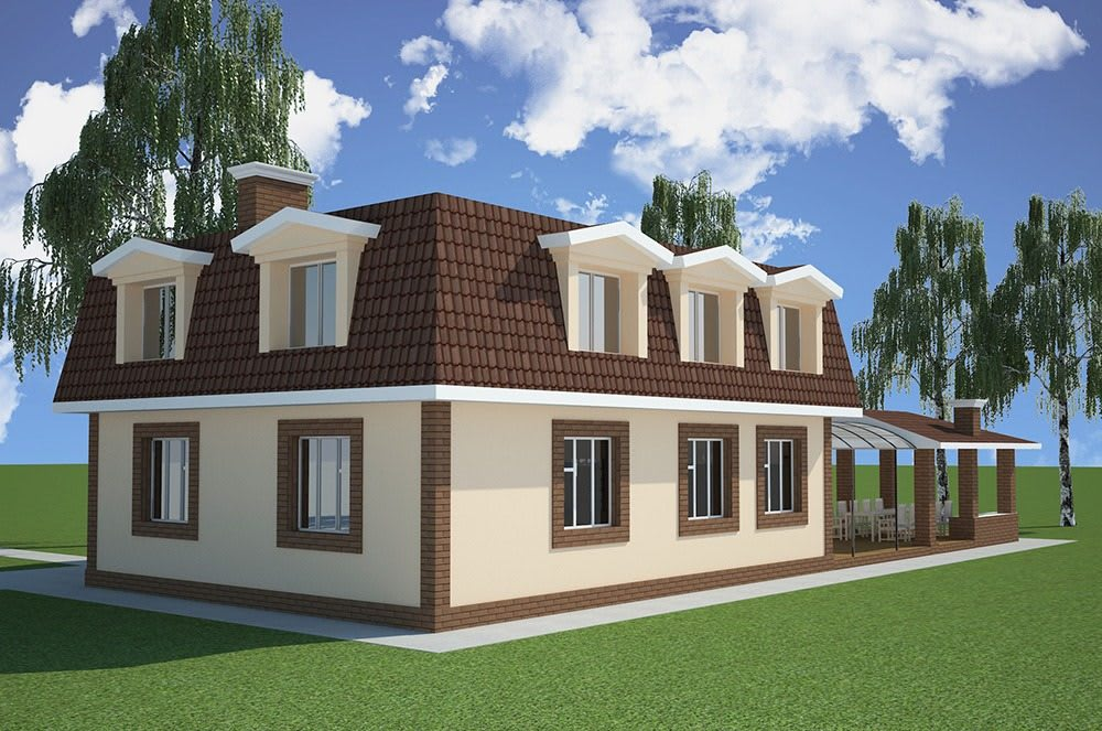 1_с. Крюковщина - малоэтажный жилой дом