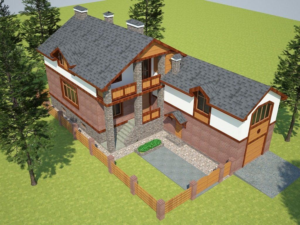 1_с.Горенка - реконструкция частного жилого дома с достройкой