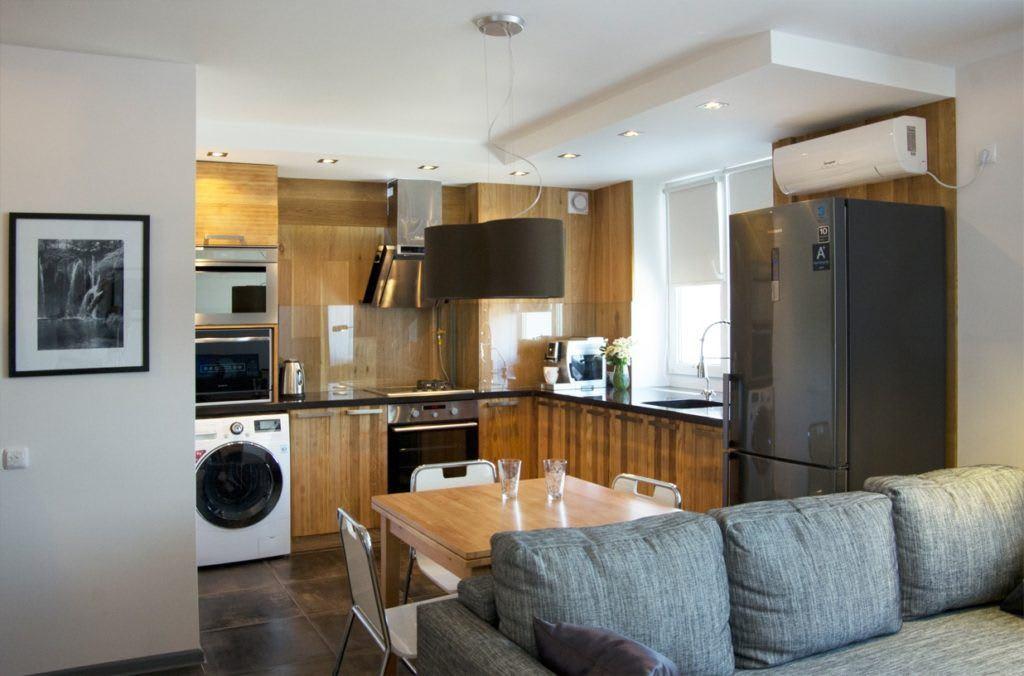 Идеи для ремонта однокомнатных квартир 21