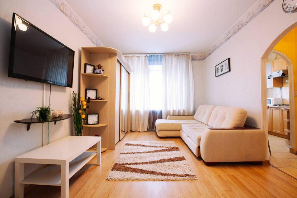 Идеи для ремонта однокомнатных квартир 22
