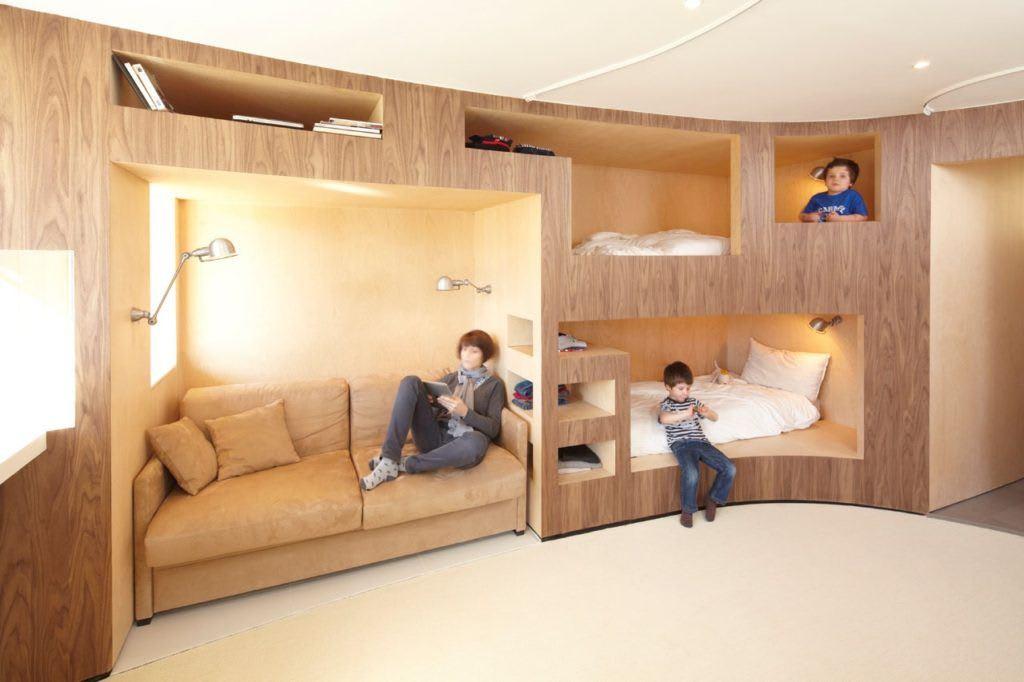 Идеи для ремонта однокомнатных квартир 26