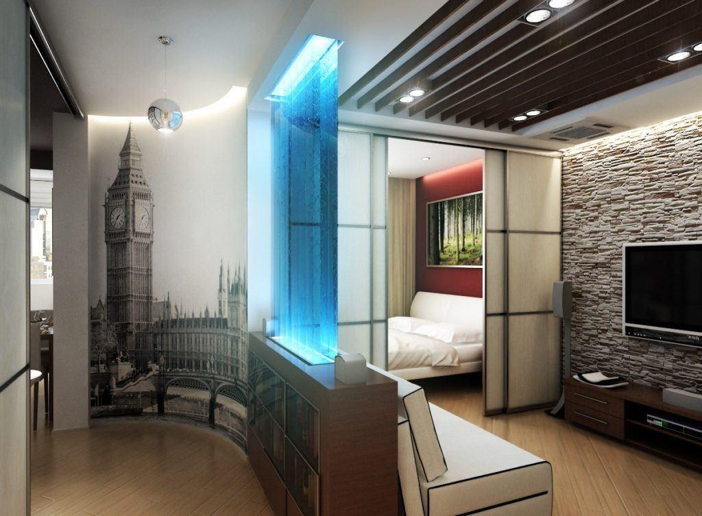 Идеи для ремонта однокомнатных квартир 28