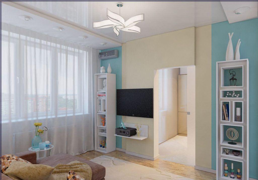 Идеи для ремонта однокомнатных квартир 2