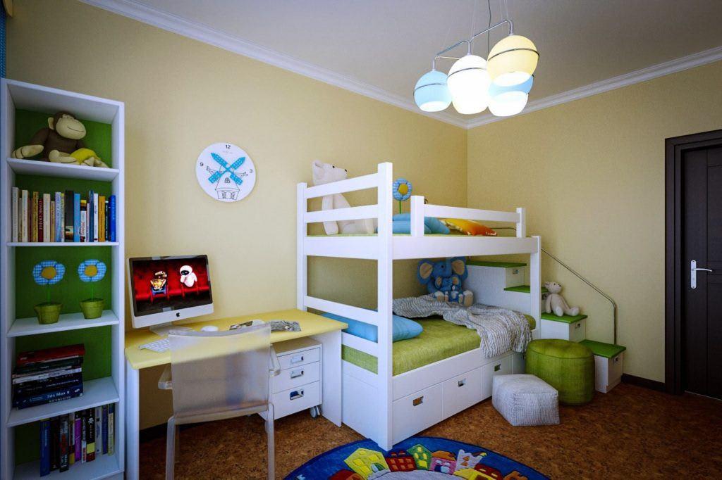 Идеи для ремонта детских комнат 2