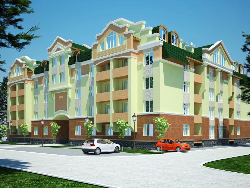 3_Многоквартирный дом в г.Ирпень ул.Мечникова 112-114