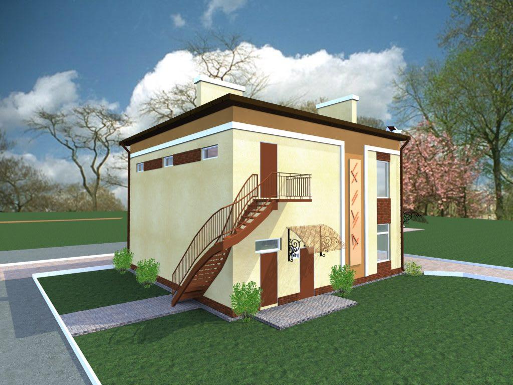 3_Реконструкция фасадов магазина ( г. Буча )