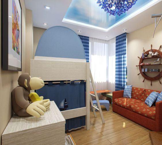 Идеи для ремонта детских комнат 3