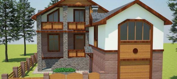 3_с.Горенка - реконструкция частного жилого дома с достройкой