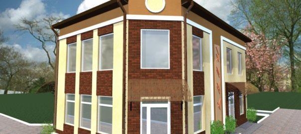4_Реконструкция фасадов магазина ( г. Буча )