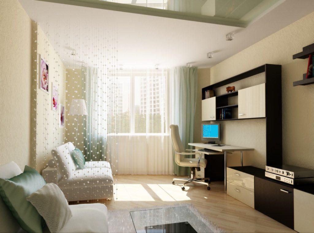 Идеи для ремонта однокомнатных квартир 5