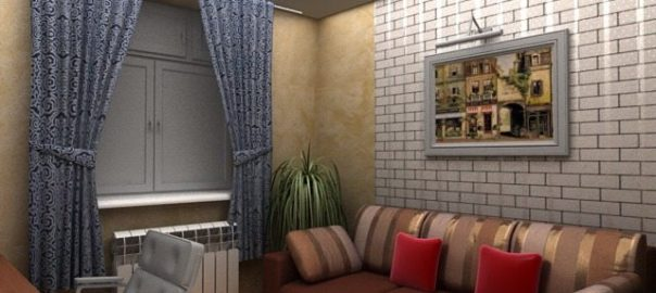5_г.Киев — авторский дизайн квартиры