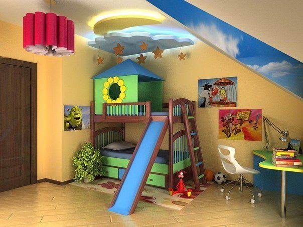 Идеи для ремонта детских комнат 7